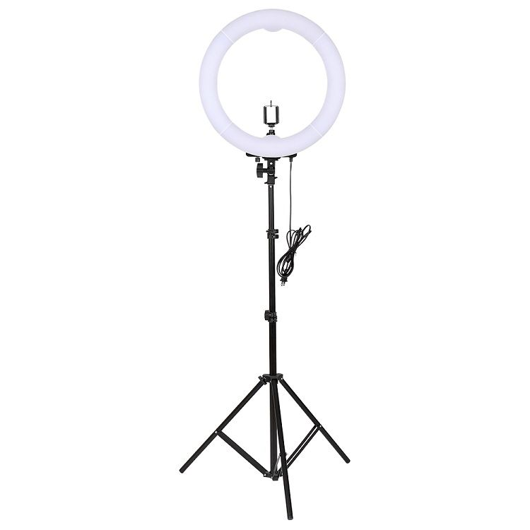 Кольцевая лампа   Ring Supplementary Lamp 32 см с пультом, держателем и напольным штативом 2 метра