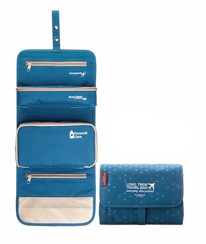 Органайзер для путешествий Long Term Travel Bag, Голубой