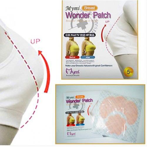 Пластырь для подтяжки груди Mymi Breast Wonder Patch, 10 шт
