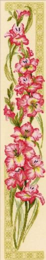 Набор для вышивания крестом Гладиолусы №938 фирма Риолис