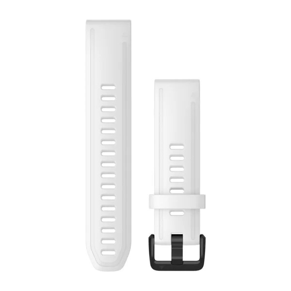 Ремешок сменный QuickFit 20мм силиконовый белый