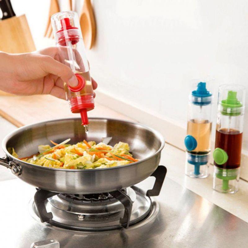 Двусторонняя Бутылочка-Распылитель Для Соуса И Масла 2 WAY Soy Sauce Bottle, Цвет Красный