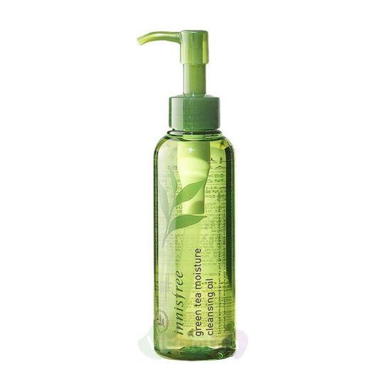Innisfree Увлажняющее гидрофильное масло Green Tea Moisture Cleansing Oil, 150 мл