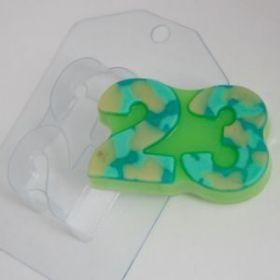 Форма для мыла и шоколада 23 февраля - Плоское