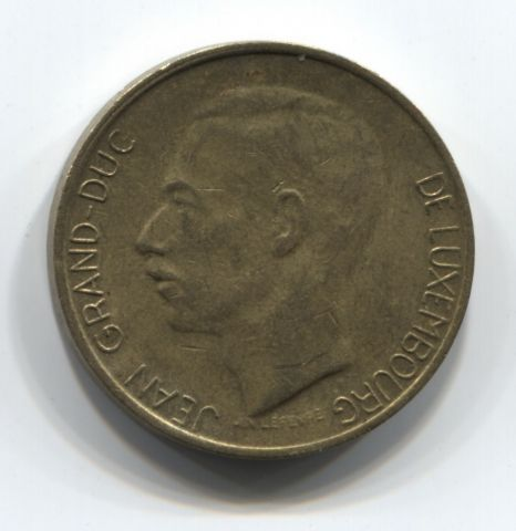 5 франков 1987 года Люксембург