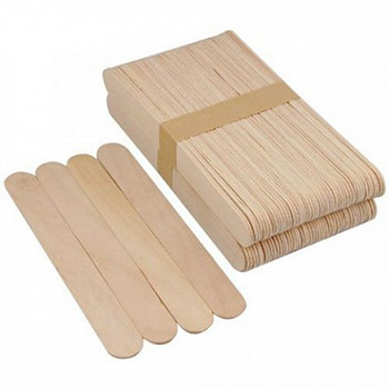 Шпатель деревянный для депиляции уп/100шт