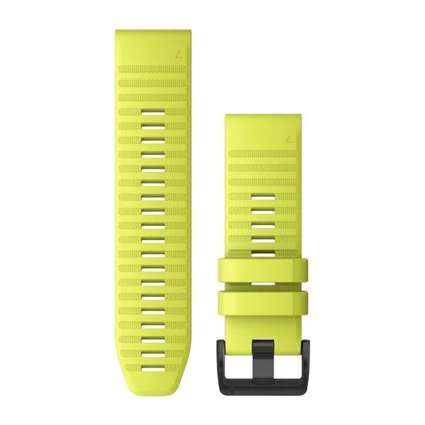 Ремешок сменный QuickFit 26мм силиконовый желтый