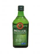 Moller's Omega-3 Kalanmaksaoljy, Жидкий рыбий жир с натуральным вкусом, 500мл.