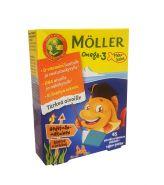 Omega-3 moller детские витамины рыбки (Норвегия)