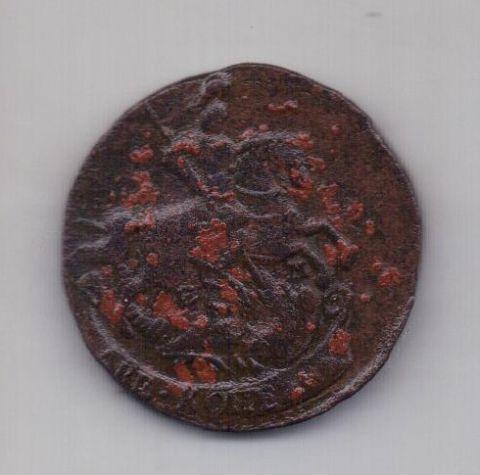 2 копейки 1766 года ЕМ Редкий год