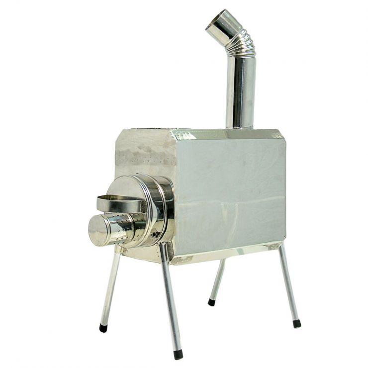 Печка-Пошехонка Турист 15 л с встроенным искрогасителем