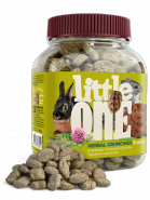 Little One Лакомство для грызунов Травяные подушечки (банка) 100г