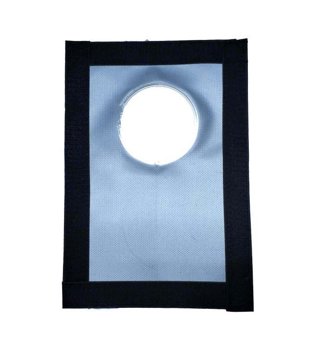 Окно-Разделка для окна  палатки Пингвин под трубу 85 мм из стеклоткани