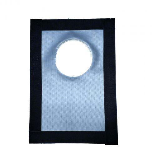 Окно-Разделка для онка палатки Пингвин под трубу 65 мм из стеклоткани