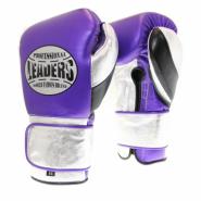 Перчатки боксерские LEADERS LeadSeries Limited PUR/SIL