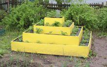 Клумба К- пирамида цвет К-200 К-160