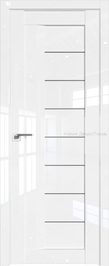 17 L Белый люкс глянцевая дверь - PROFIL DOORS двери