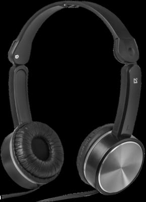 НОВИНКА. Наушники накладные Accord 145 черный+серый, кабель 1,2 м