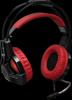 Игровая гарнитура Lester красный + черный, кабель 2,2 м