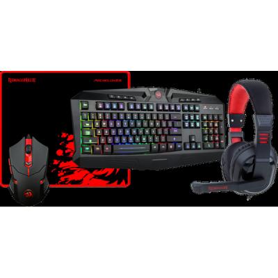 НОВИНКА. Игровой набор S101-BA мышь+клавиатура+гарнитура+ков.