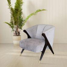 Кресло TARA светло-серое