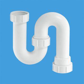 сифон трубный S-образный (1 1/2'х40мм) без выпуска; вертикальный компрессионный выход Ду=40мм