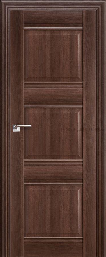 3Х Орех Сиена - глухая - PROFIL DOORS межкомнатные двери