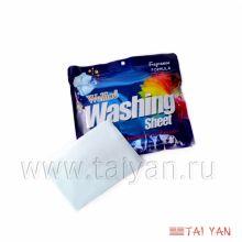 """""""Тай Ян"""" Салфетки для стирки отбеливающие, Washing sheet, 96 гр.(синие), B131-02"""