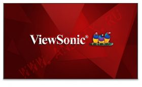 Профессиональный дисплей ViewSonic CDE9800