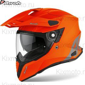Шлем Airoh Commander, Оранжевый матовый