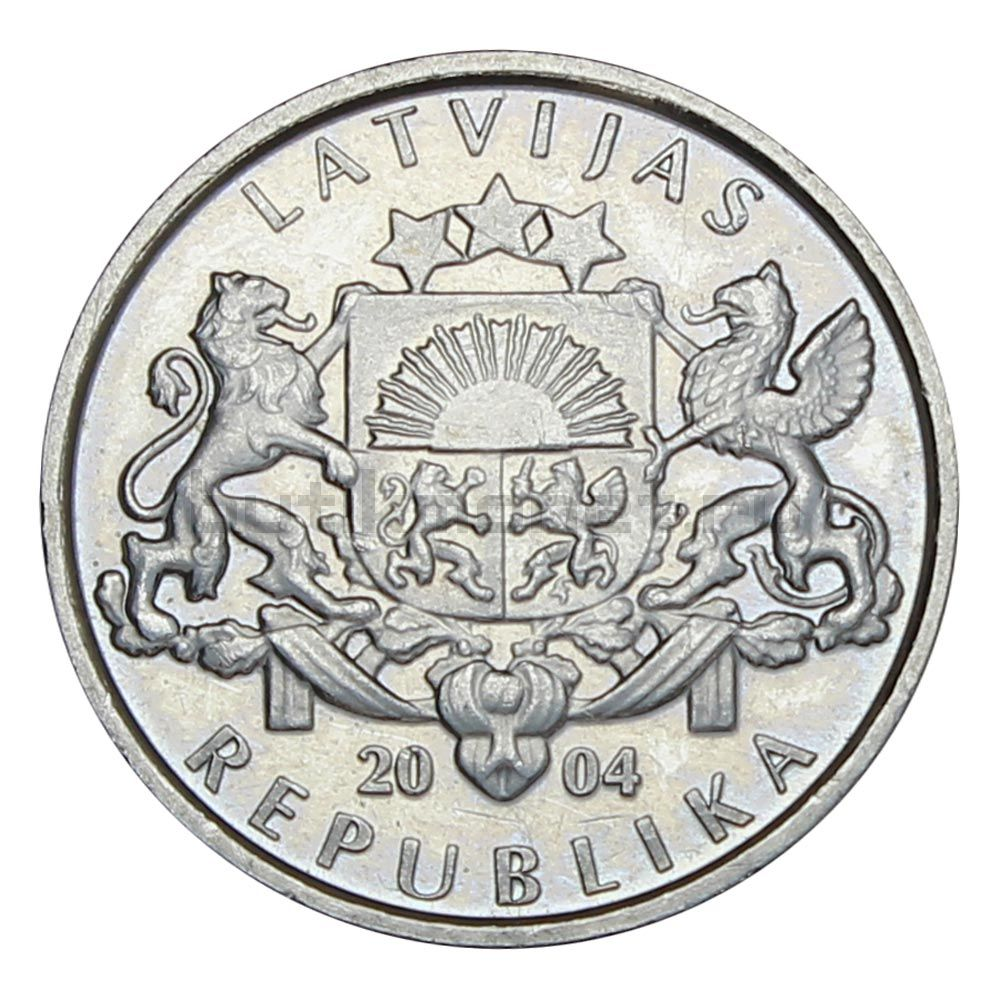 1 лат 2004 Латвия Гриб