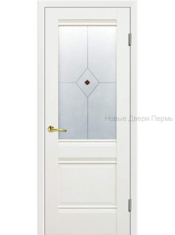 2Х Эш Вайт - со стеклом - PROFIL DOORS межкомнатные двери