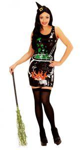 Платье Ведьма с блестками