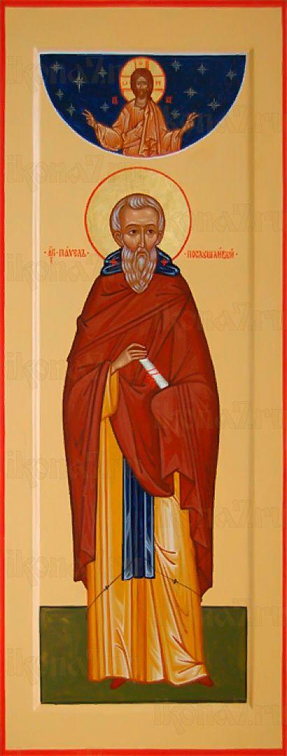 Икона Павел Печерский преподобный
