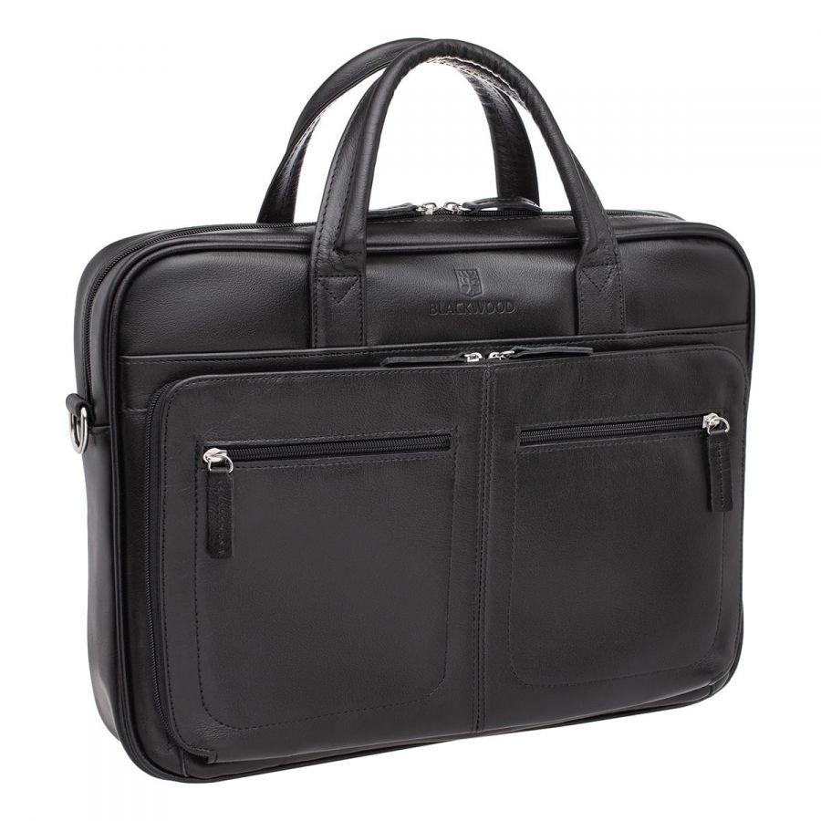 Деловая сумка BLACKWOOD Abercorn Black