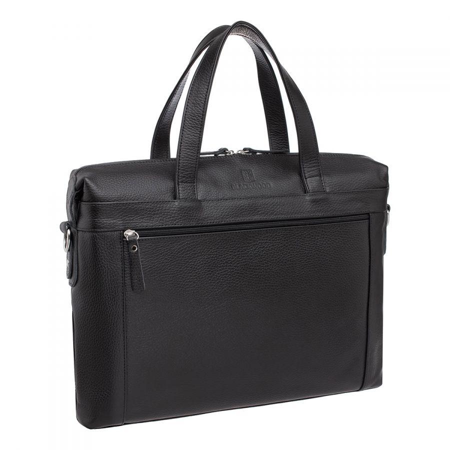 Деловая сумка BLACKWOOD Bickley Black