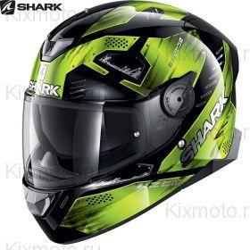 Шлем Shark Skwal 2 Venger, Черно-желтый