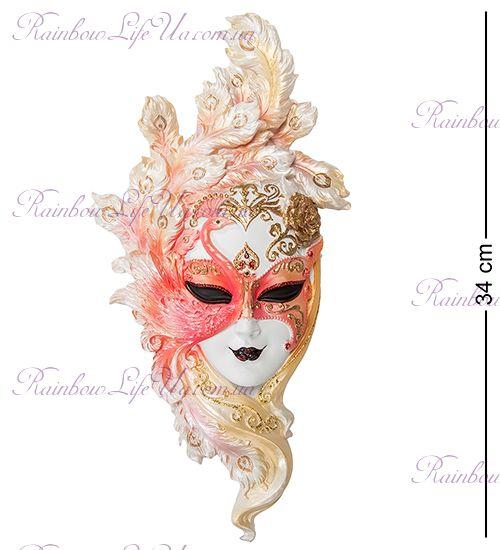 """Венецианская маска Павлин """"Veronesе"""""""