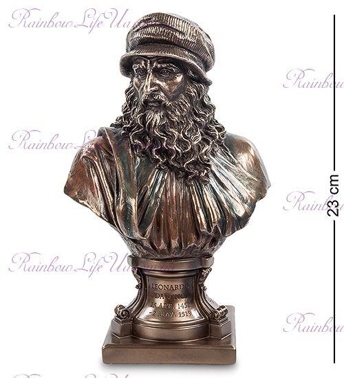 """Статуэтка - бюст Леонардо да Винчи """"Veronese"""""""