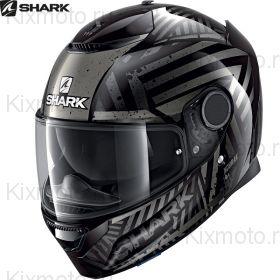 Шлем Shark Spartan 1.2 Kobrak, Черно-антрацитовый