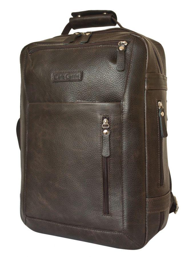 Кожаный рюкзак Carlo Gattini Chatillon brown