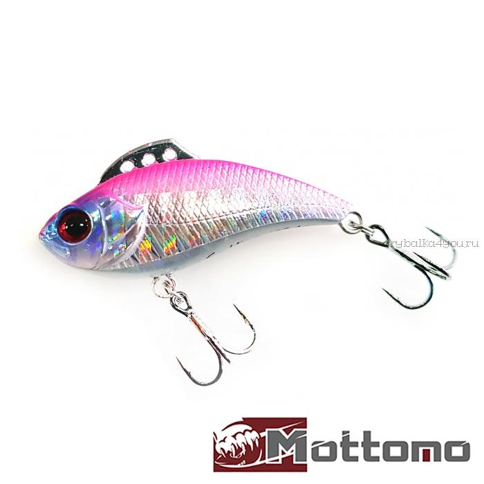 Воблер Mottomo Saltar 40S 40 мм / 4 гр / цвет: Silver Pink