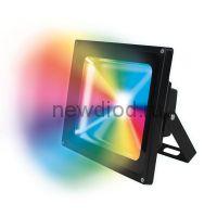 Прожектор светодиодный ULF-S01-20W/RGB/RC IP65 110-240В картон UNIEL