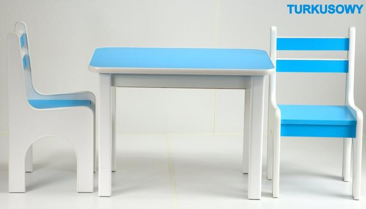 Стол со стулом для детской комнаты сверхпрочные