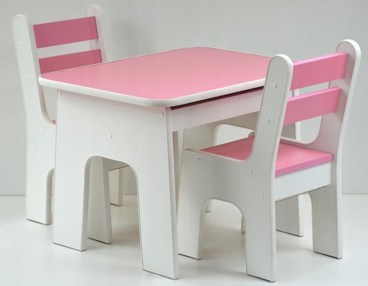 Столик со стульчиком с выдвижным ящиком K2 KidsMebel