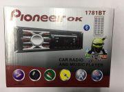 1781BT Магнитола PioneeirOK +USB+AUX+Радио+BT