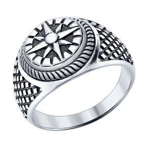 Кольцо из серебра «Компас» 95010091 SOKOLOV