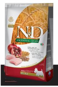 N&D Low Grain CHICKEN & POMEGRANTE Adult Mini (курица+гранат для взрослых собак мелких пород)