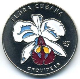 Куба 1 песо 2001
