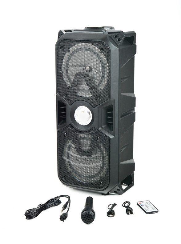 Портативная акустическая система BT-1776/ АО-1106 с микрофоном для караоке